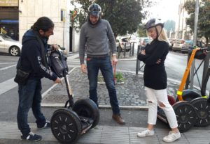 How hard is it to ride the Segway