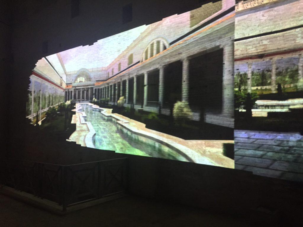 Domus Aurea projection