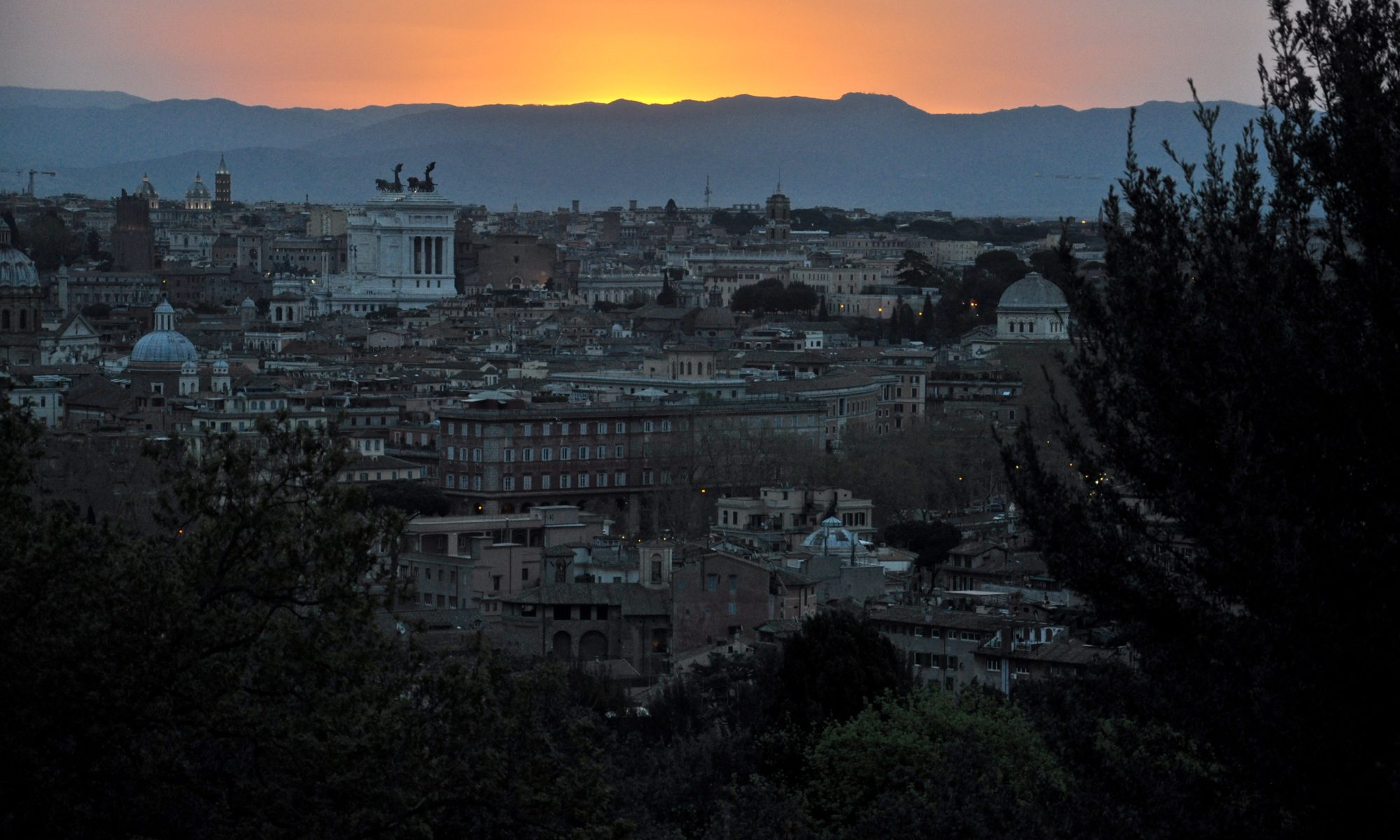 Sunrise in Rome