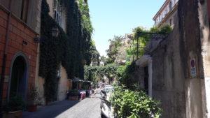 Trastevere's narrow